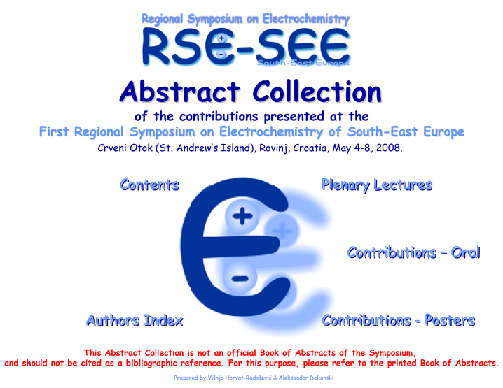 First RSE SEE Abstract Collection